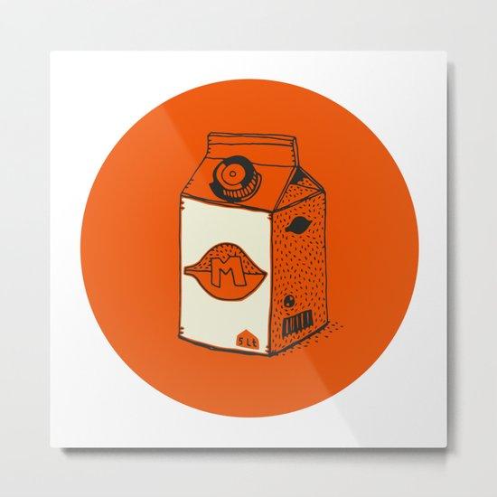 daily foods: milk Metal Print
