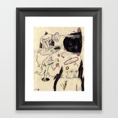 Bajo Perfil Framed Art Print