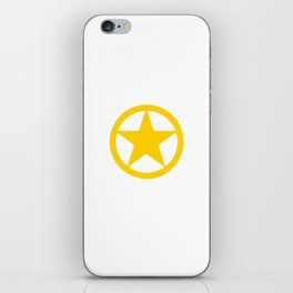 Wild West Collectible Sheriffs In Town iPhone Skin