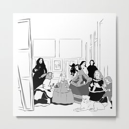 Las Meninas Metal Print