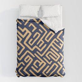 Maze pattern Comforters