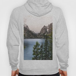 Grand Teton Wanderlust Lake Adventure - Nature Photography Hoody