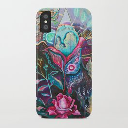 She Buds, She Blooms iPhone Case
