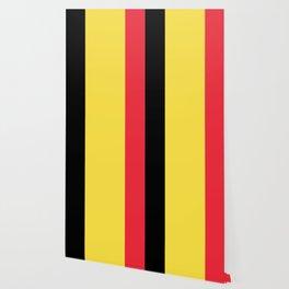 Flag of Belgium Black Yellow Red Wallpaper