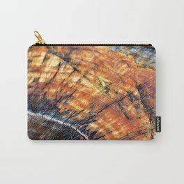 Macro Tree Stump Ring Arc Carry-All Pouch