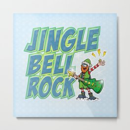 Jingle Bell Rock! Metal Print