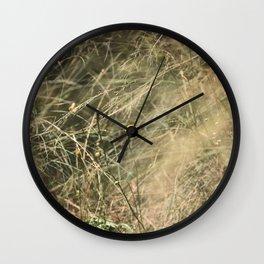 Feeling Content Wall Clock