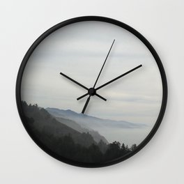 Misty Mountain Hop Wall Clock