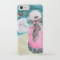 mermaids iPhone & iPod Cases featuring Mermaids by Condor