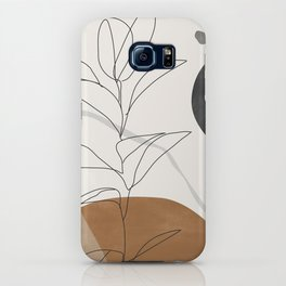 Abstract Art /Minimal Plant iPhone Case