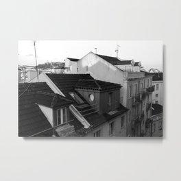 Buildings in Lisbon Metal Print