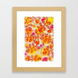 Vines Framed Art Print