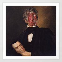 carnival Art Prints featuring Carnival by DIVIDUS