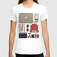 8bit T-shirts featuring 8Bit Handbag by Thecansone