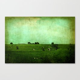 The Green Yonder Canvas Print