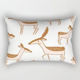 Deer pattern Rectangular Pillow