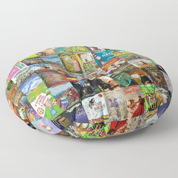 Children's Books Floor Pillow