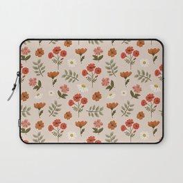 Among the Wildflowers Pattern Laptop Sleeve