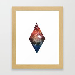 Shattered Space Framed Art Print