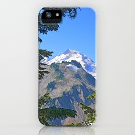 MOUNT BAKER FROM KULSHAN RIDGE iPhone Case