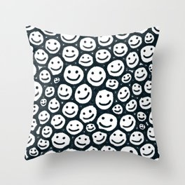 All Smiles Throw Pillow