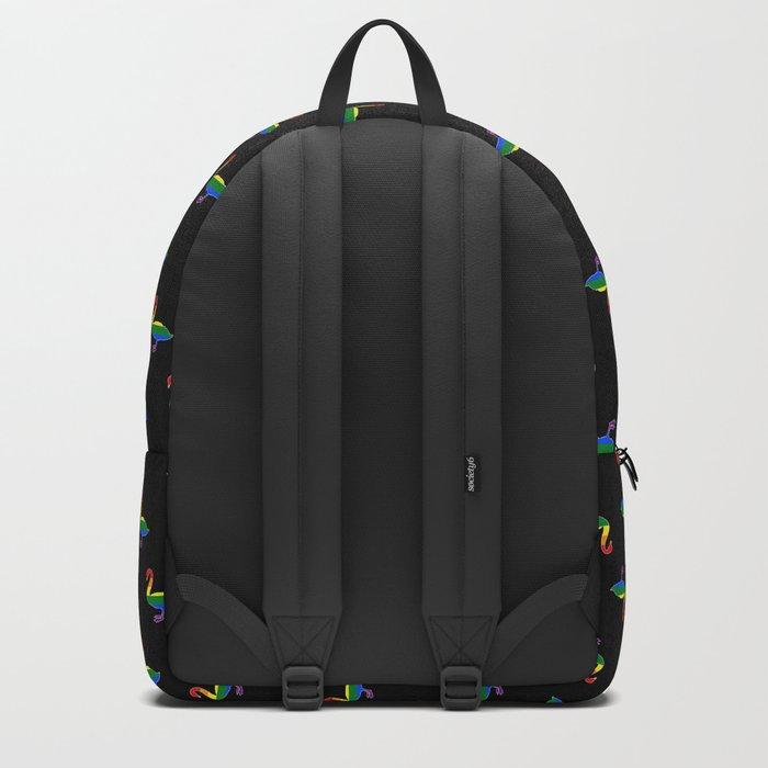 LGBT Pride Swan Backpack