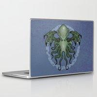 cthulhu Laptop & iPad Skins featuring Cthulhu by N.Kachaktano