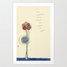 The Improbable Truth Art Print
