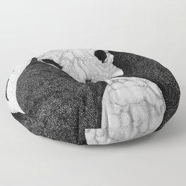 Rock Salt Gazing Floor Pillow