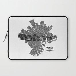 Tokyo Map Laptop Sleeve