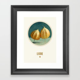 love series I Framed Art Print