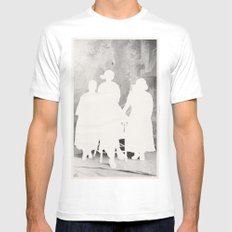 the secret family White SMALL Mens Fitted Tee