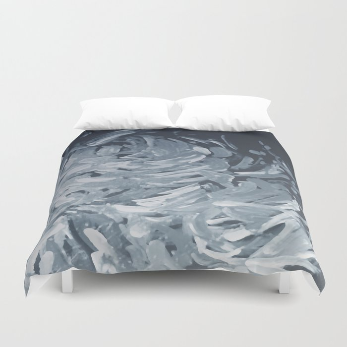 Abstract flowers 25 Duvet Cover