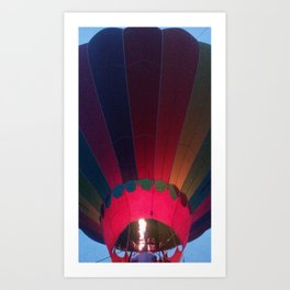 Glow for a Ride! Art Print