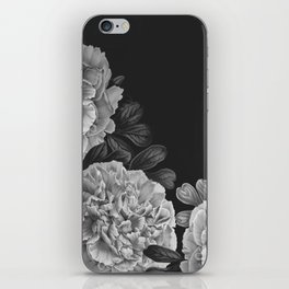 Flowers in the night iPhone Skin