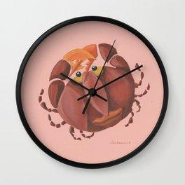 Cancer (rose) Wall Clock