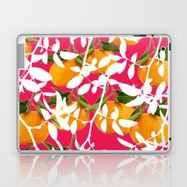 Hiding Mandarins (Pink) Laptop & iPad Skin