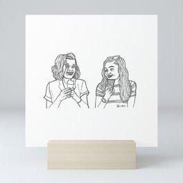 Eleven and Max Friendship Mini Art Print