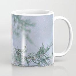 Sleet Cardinal Coffee Mug