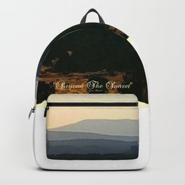 Beyond The Sunset Backpack