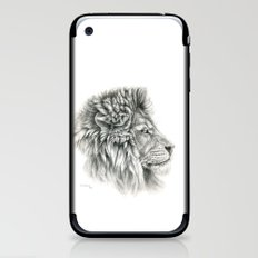 Lion - profile G044 iPhone & iPod Skin