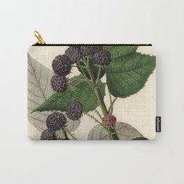 Vintage Painting of Blackberries Carry-All Pouch