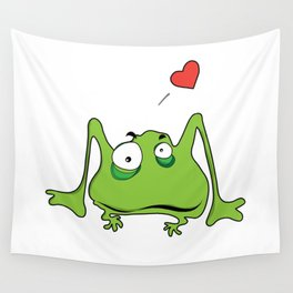 Frog Legs Wall Tapestry