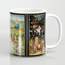 Hieronymus Bosch's The Garden of Earthly Delights Coffee Mug
