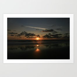 mystic sunset 2 Art Print