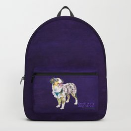 Toy Australian Shepherd Backpack