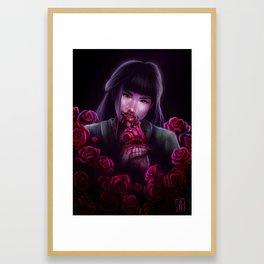 Dangerous as a Rose Framed Art Print