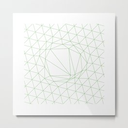 #111 A disruption in the force – Geometry Daily Metal Print