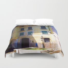 Egna, South Tryol, Italy Duvet Cover