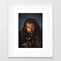 thorin Framed Art Prints featuring Thorin by Arkady